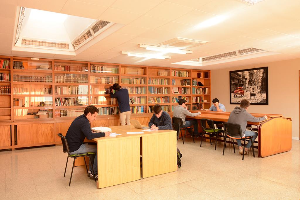 Biblioteca Colegio Mayor Mendel