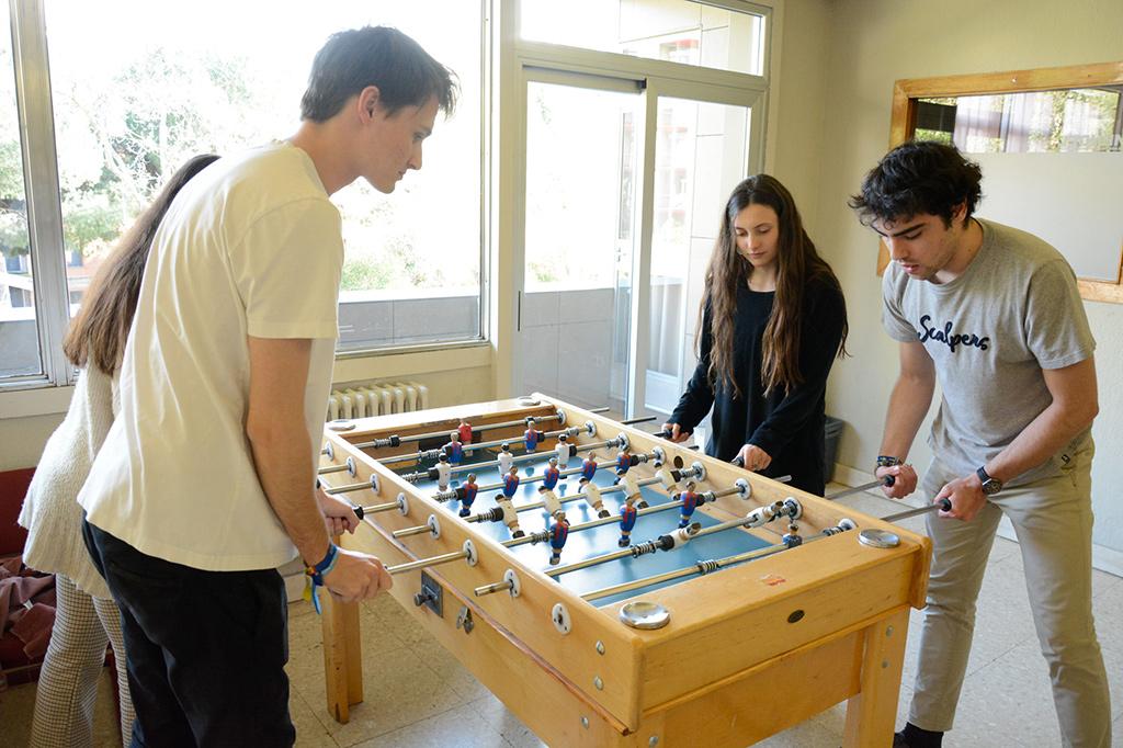 Sala de Juegos Colegio Mayor Mendel